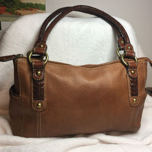 Fossil Natural Leather Color Purse
